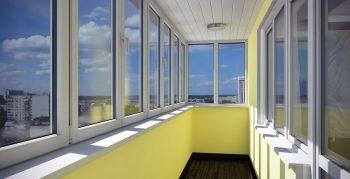 Остекление балконов в Днепре