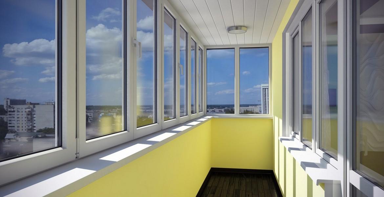 Преимущества остекления балконов и лоджий пластиком