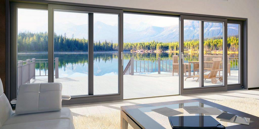 Тёплые алюминиевые окна